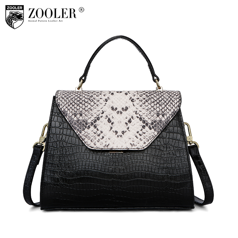 ZOOLER Brand Genuine Leather Women Purses and Handbags Luxury Handbags Women Bags Designer Fashion Crossbody Bags for Women Z128