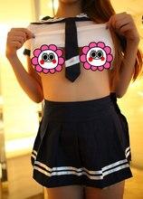 Японский Девушки Школьная форма Студенты Костюм Студенческом кампусе Униформа Экзотическое одеяние Сексуальные Костюмы Костюм Для XS-M