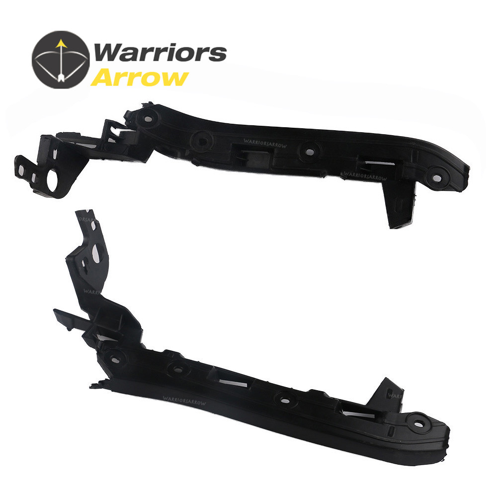 95550504910 95550505010 For PORSCHE Cayenne 2008 2009 2010 Pair New Front Bumper Guide Rail Left Right
