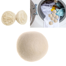 3pcs/set 6cm 7cm Wool Dryer Balls Drying Fabric Softer Luandry Home Washing Ball