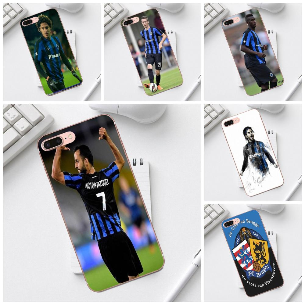Diy Colorful Drawing TPU Brand New Club Brugge Kv For Galaxy Alpha Core Prime Note 4 <font><b>5</b></font> 8 S3 S4 S5 S6 S7 S8 S9 mini edge Plus image