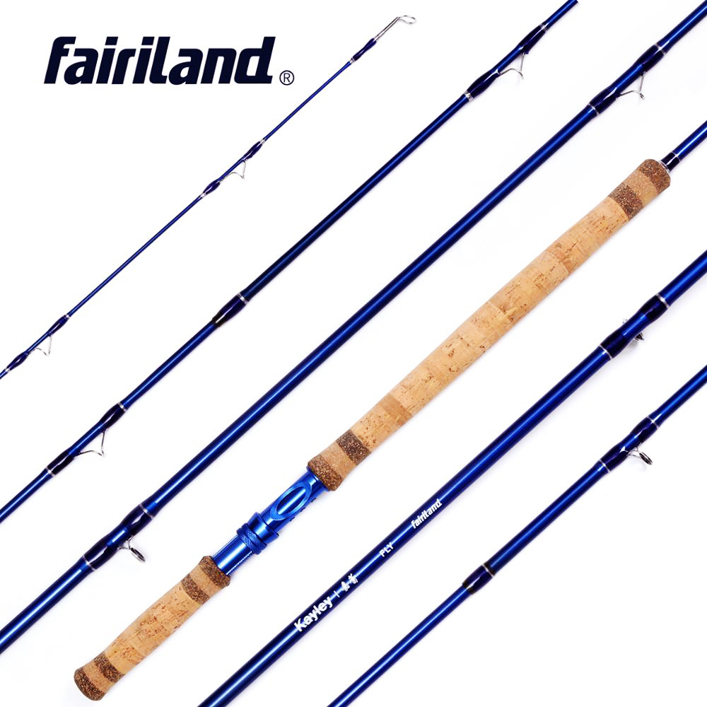 Fly Fishing Rod with spare top tip 3 4M 5 Sections 6 7 7 8 8
