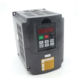 Image 4 - Tornio CNC 2.2kw motore mandrino Di Raffreddamento ad Acqua kit ER20 & 2.2kw Inverter VFD 2HP & 80 millimetri Morsetto e Acqua tubo della pompa per macchina del Router