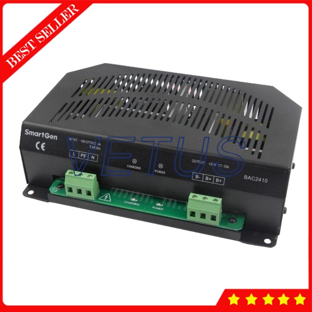 Chargeur de batterie à flotteur pour batterie de stockage 24 V circuit de protection de courant intégré avec interrupteur Structure d'alimentation BAC2410