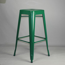 Free Shipping 75cm Powder Coated Stool with Green Colour Finish(China)