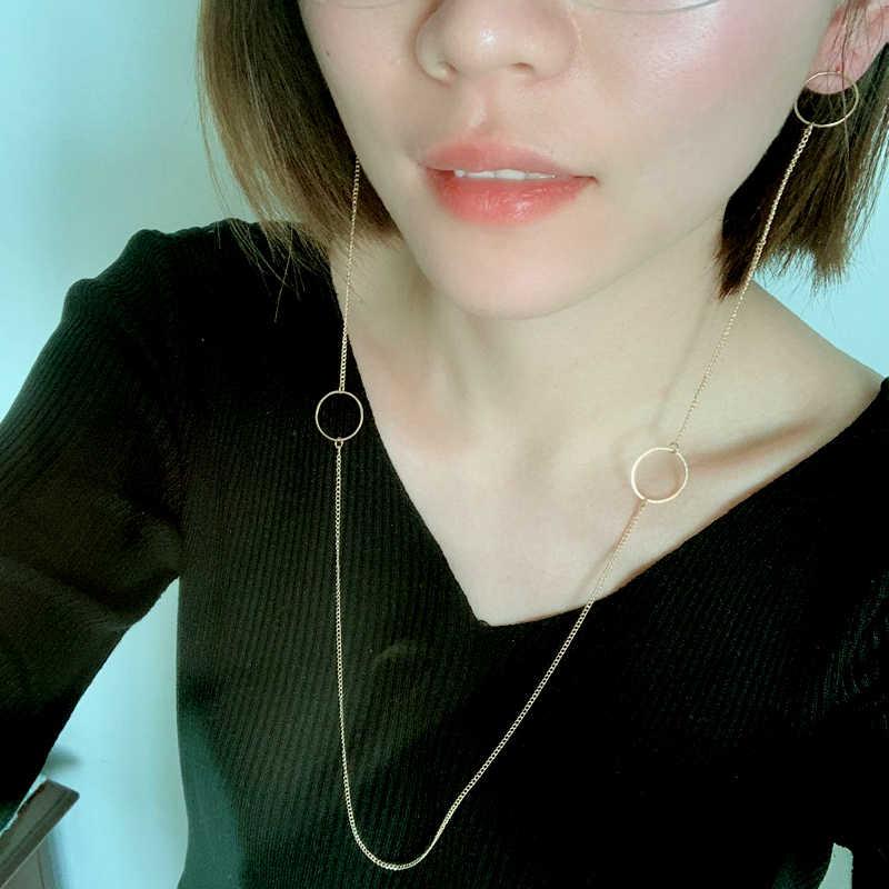 JUJIA gargantilla de cadena de metal de lujo Maxi collar de declaración 2019 gargantilla para boda multicapa Collier joyería de moda