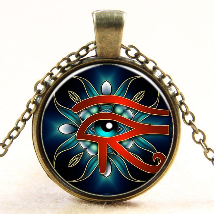 Eye of Horus Necklace Ancient God Egypt Necklace Egyptian
