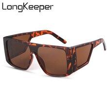 Luxury Brand Flat Top Sunglasses Tortois