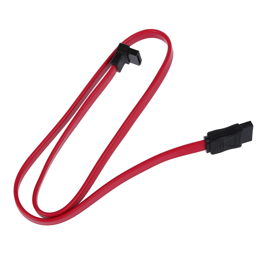 5x Red 19.7 Inch L-Shape Sata2 Male to Sata2 Male Cable For Sata / Sata2 Hard Disk Drive / CD-ROM / CDRW / DVD sata festplatte 1tb 7 2k sata2 ds4000 44x2459