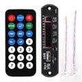 Negro Remoto ZTV-M011 Módulo Controlador Remoto SD Reproductor de MP3 FM USB 2.0 3.5mm Venta Caliente