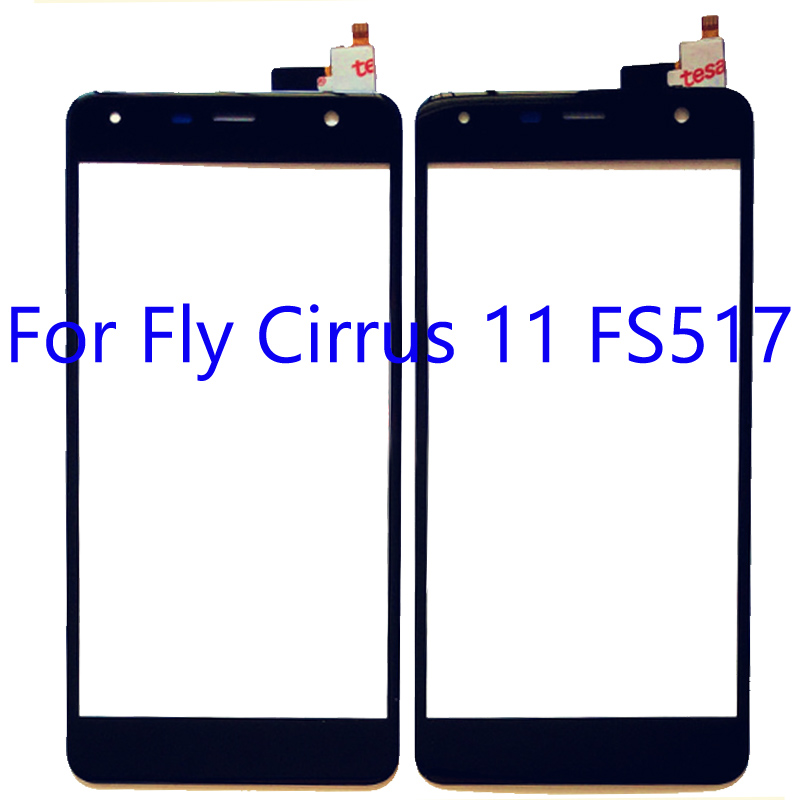 For Fly <font><b>FS517</b></font> FS 517 <font><b>Touch</b></font> Screen panel Digitizer Sensor For Fly Cirrus 11 Cirrus11 <font><b>touch</b></font> panel glass with flex cable image