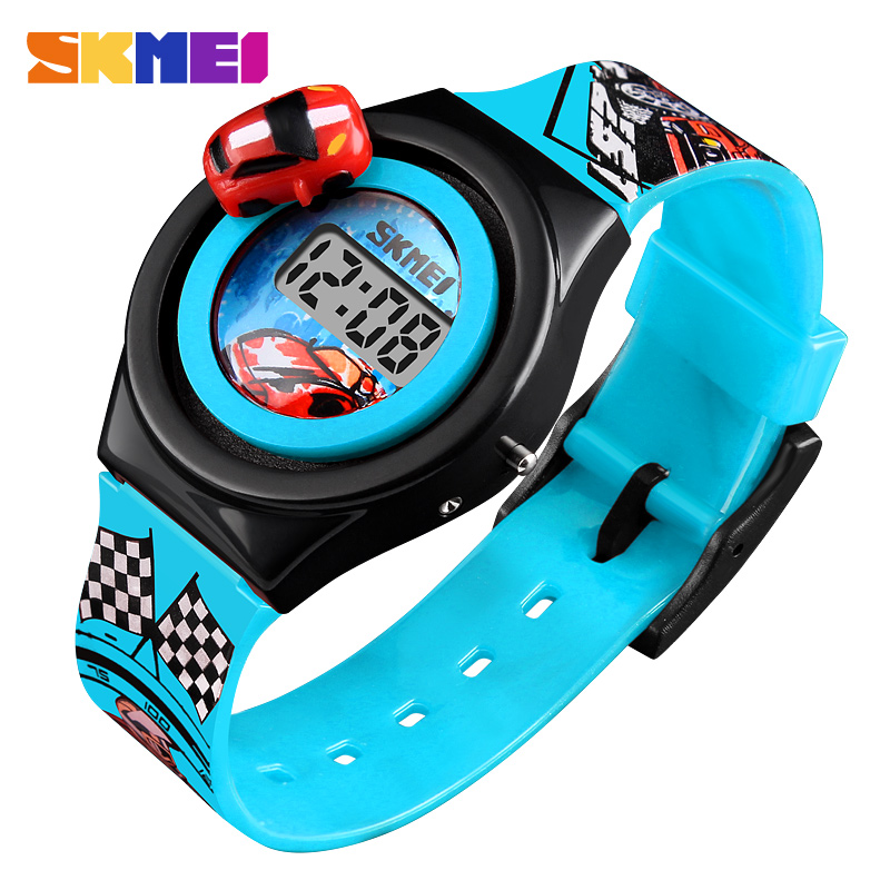 Brand Luxury Creative Cartoon Digital Watch for Kids