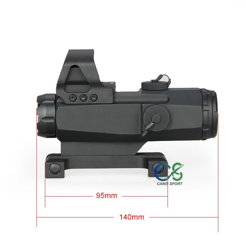 Ppt hamr 4x24mm rifle escopo lupa riflescope