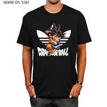 94fc6de6b4 Bola de Dragón T camisa de los hombres de verano de Dragon Ball Z super  goku Slim Cosplay camisetas de marca vegeta Camiseta Hom.