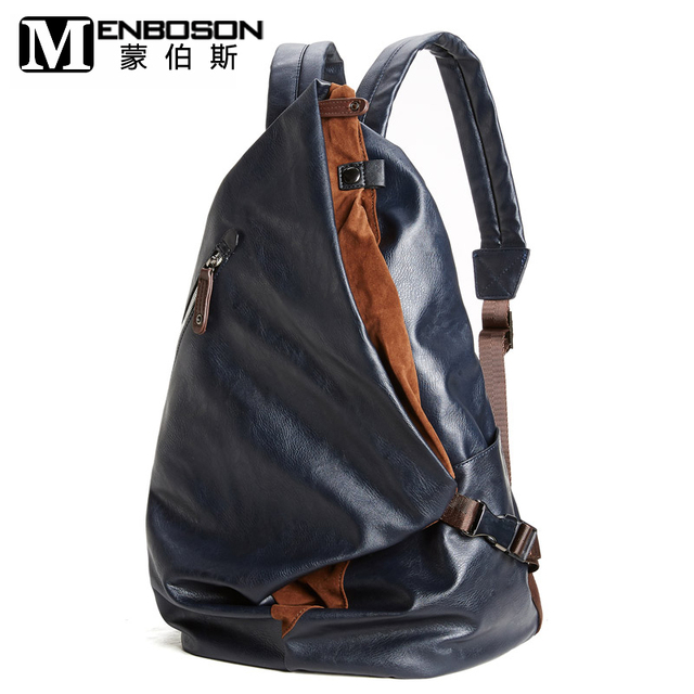 New Designer Leather Backpack Male Female Bagpack Men Back Pack ...