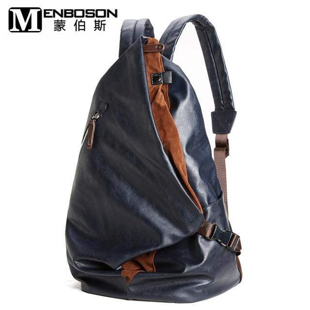 ef3636ec02 New Designer Leather Backpack Male Female Bagpack Men Back Pack Bag Sac a  Dos Femme Feminine