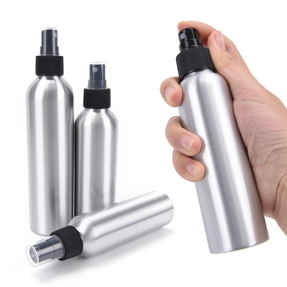 1Pc 10/30/50/100/120/150/250ml Aluminum Bottle Mice Spray Bottle Fine Mist Aluminum Refill Bottle Mouse Spray Bottles