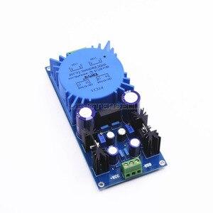 Image 1 - Monte LM317 LM337 Trafo Çıkışı Ayarlanabilir Voltaj Regülatörü Preamplifikatör Güç Kaynağı Kurulu ses amplifikatörü