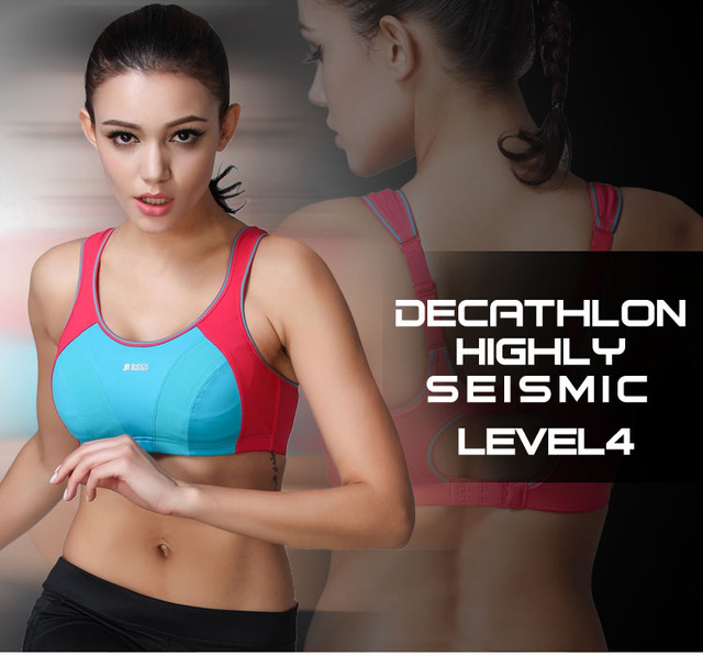 45be41557b6e2 US UK Famous Shock Absorber Sports Bra Fashion Elastic Quick Dry Breathable  Soft Back Closure Wireless Women Plus Size Bra BH