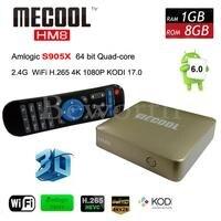 Amlogic S905X Android 6 0 Smart TV Box Quad Core HM8 Mini PC KODI 17 0