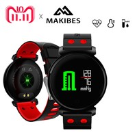 Makibes K2 Smart Bracelet Blood Pressure Heart Rate Monitor Blood oxygen detection IP68 waterproof Fitness Tracker Smart Band