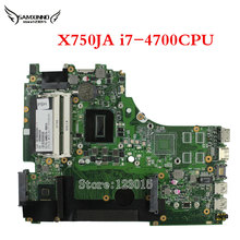 Original X750JA for ASUS Motherboard w/ Intel i7-4700HQ 60NB01Y0-MB3000 69N0PLM12A01 100% work and fully tested