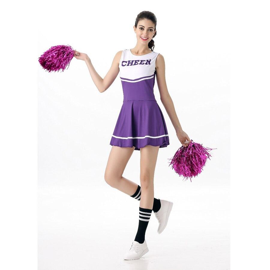 Adult cheerleading uniform