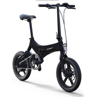16 inch folding electric bike lightweight alloy ebike 36V250W Frame suspension Hidden lithium battery mini smart bicycle