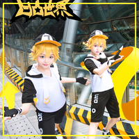 [Stock] Anime Aotu World King Uniform Cosplay Costume Unisex Clothing Sets Daily Clothes top+pants+hat+ear+gloves Free Shipping