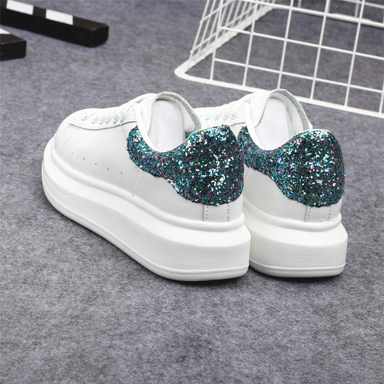 New Fashion Vulcanize Shoes Trainers Women Sneakers Casual Shoes Basket Femme PU Leather Tenis Feminino Zapatos Mujer Plataforma 75