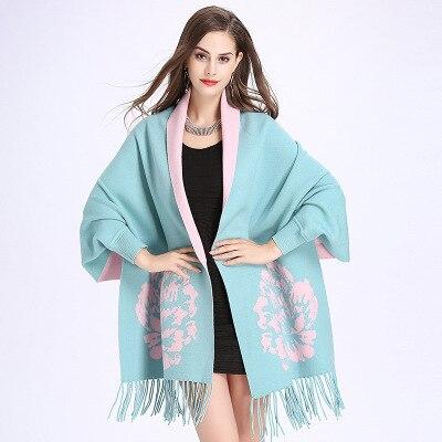2018 Spring tassel wrap swing sweater cloak shawl knitswear Russian women new fashion cloth 1111 wish aliexpress wish Amazon