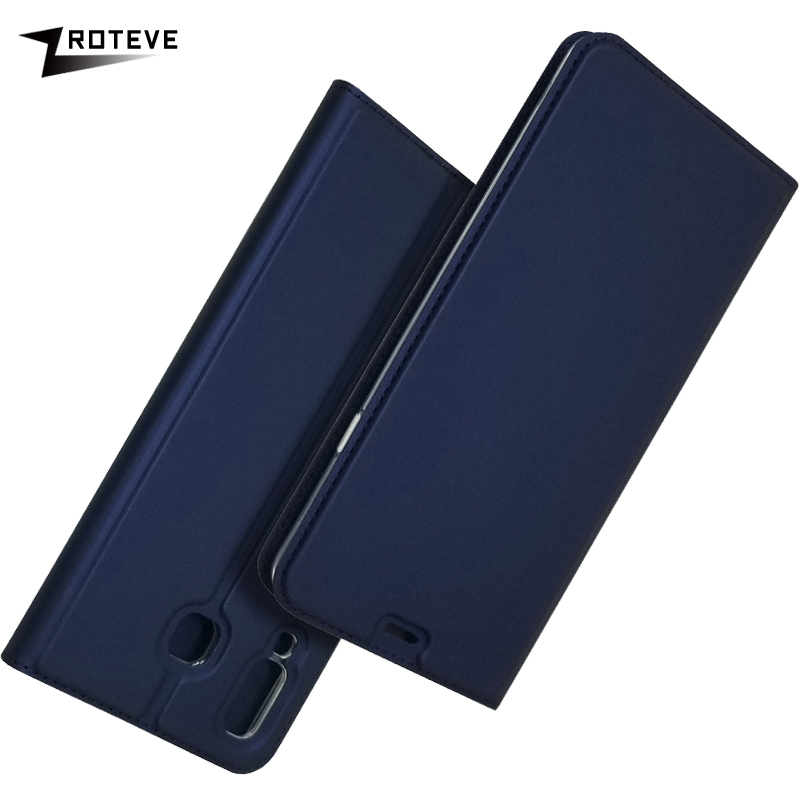 ZROTEVE For Samsung A9 2018 Case PU Wallet Coque Galaxy Leather Stand Flip Cover GalaxyA9