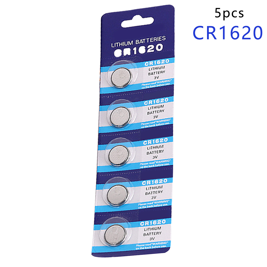 5pcs/Lot CR1620 1620 ECR1620 DL1620 280-208 3V Cell Battery Button Battery,Coin Battery lithium battery For Watches,clocks 1 55v and 3v button cell battery checker battery tester green