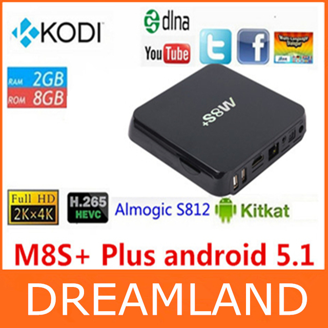 5pcs Best Quality Amlogic S812 M8s Quad Core Tv Box Google Play Porn Video Smart Android