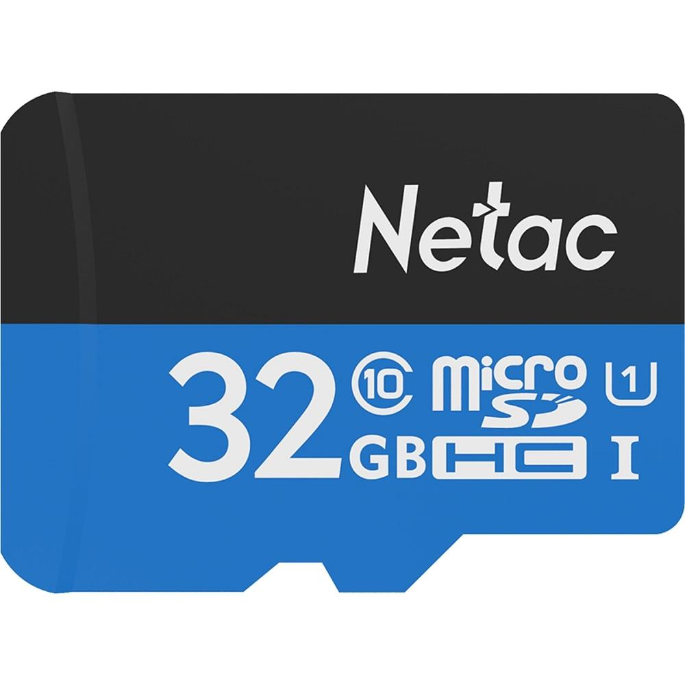 Netac P500 Class 10 32GB 32G 64GB 128GB Micro SDHC TF Flash Memory Card Data Storage UHS-1 Up to 80/90MB/s memory cards