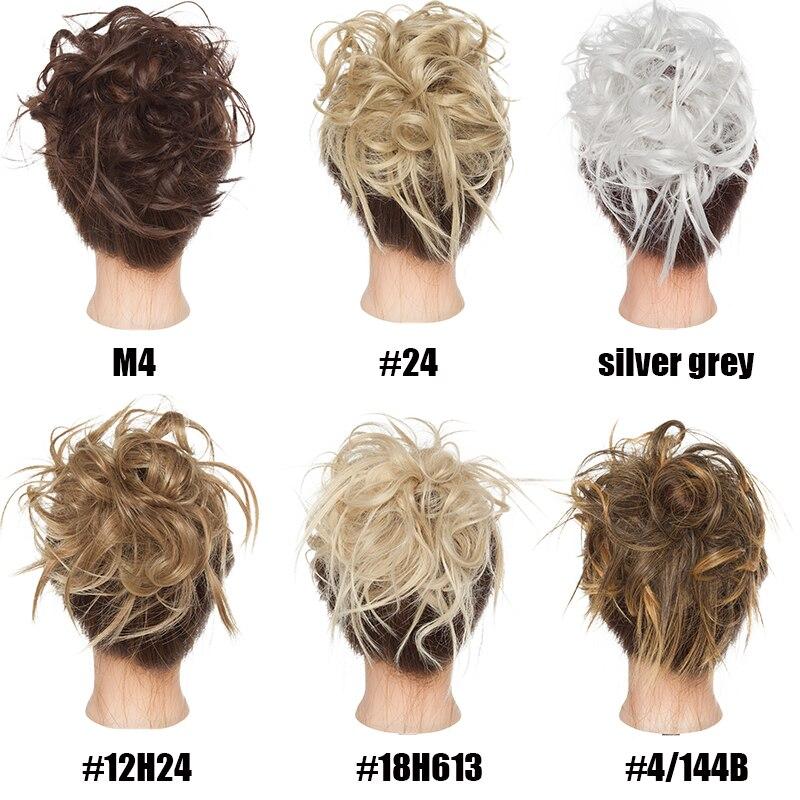 s noilite 45g mulheres extensoes de cabelo sintetico 03