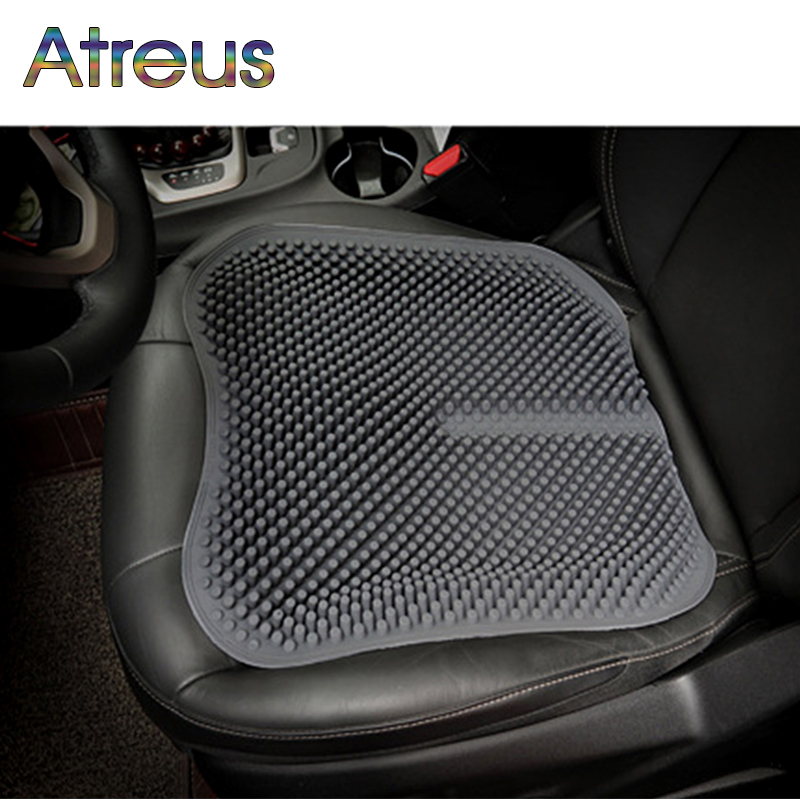 Atreus Silicone Anti-skid massage cushion For Ford Focus 2 3 Fiesta Mondeo Kuga <font><b>Ranger</b></font> Mustang Toyota Corolla Avensis RAV4 C-HR