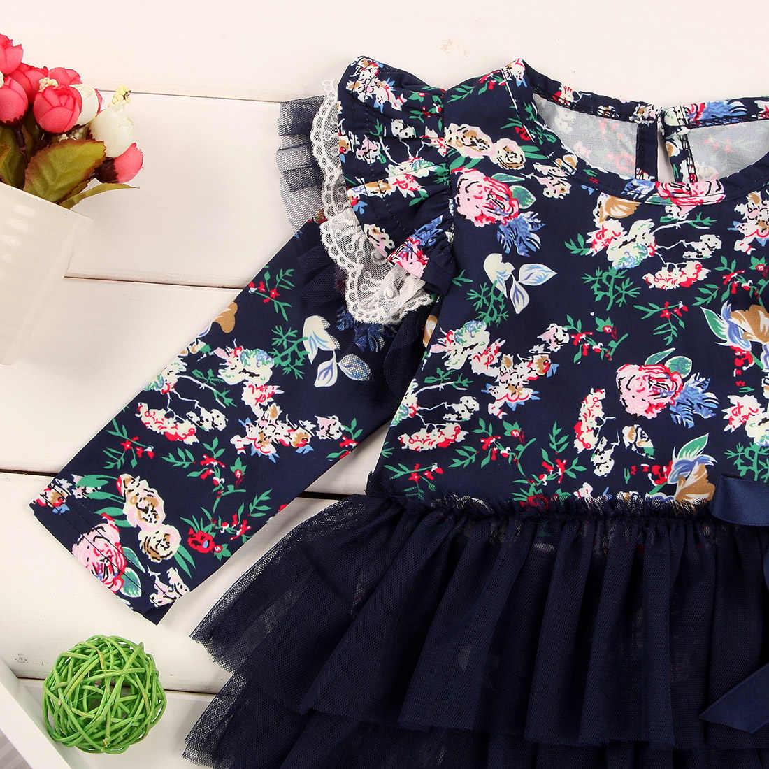 Комбинезон для новорожденных девочек; комбинезон с длинными рукавами и цветочным рисунком; осенняя одежда для малышей; Новинка