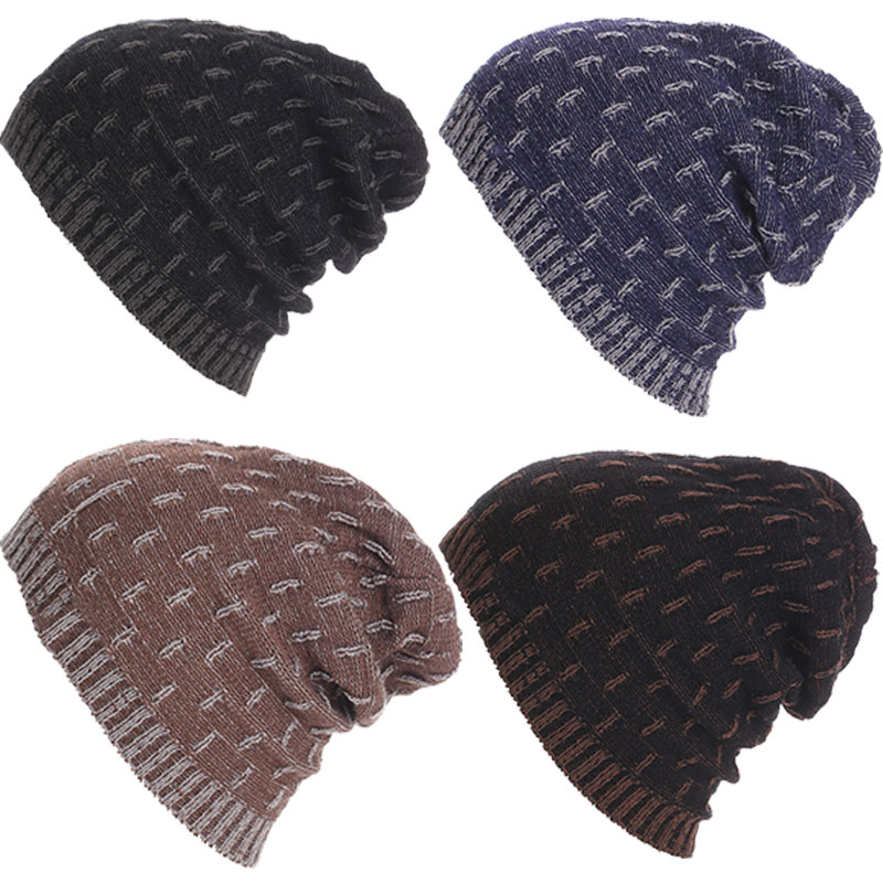 New Knitted Beanies Hat Fashion Casual Winter Autumn Hip-hop Skullies Skiing Outdoor Caps For Men Women Unisex 88  -MX8  new 2016 winter hat nasa men women unisex solid brand hot sale warm casual knitted hip hop caps hat female skullies beanies