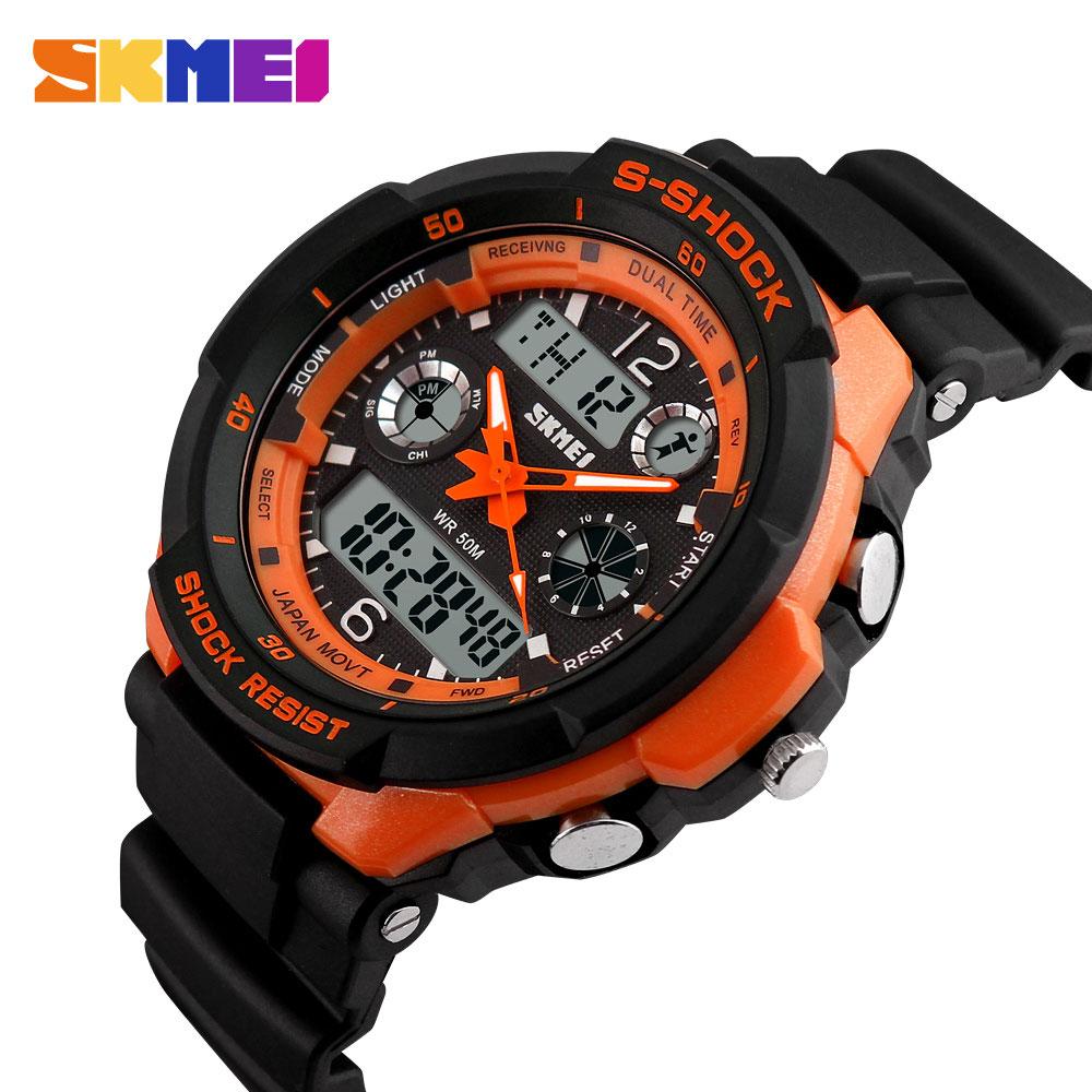 2016 SKMEI 0931 Luxury Brand S Shock font b Men b font Military Sports Watches Digital