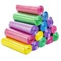 150 шт. одноразовые Утолщенные цветные мешки для мусора Бытовая Кухня большой плоский пластиковый пакет мешки для мусора
