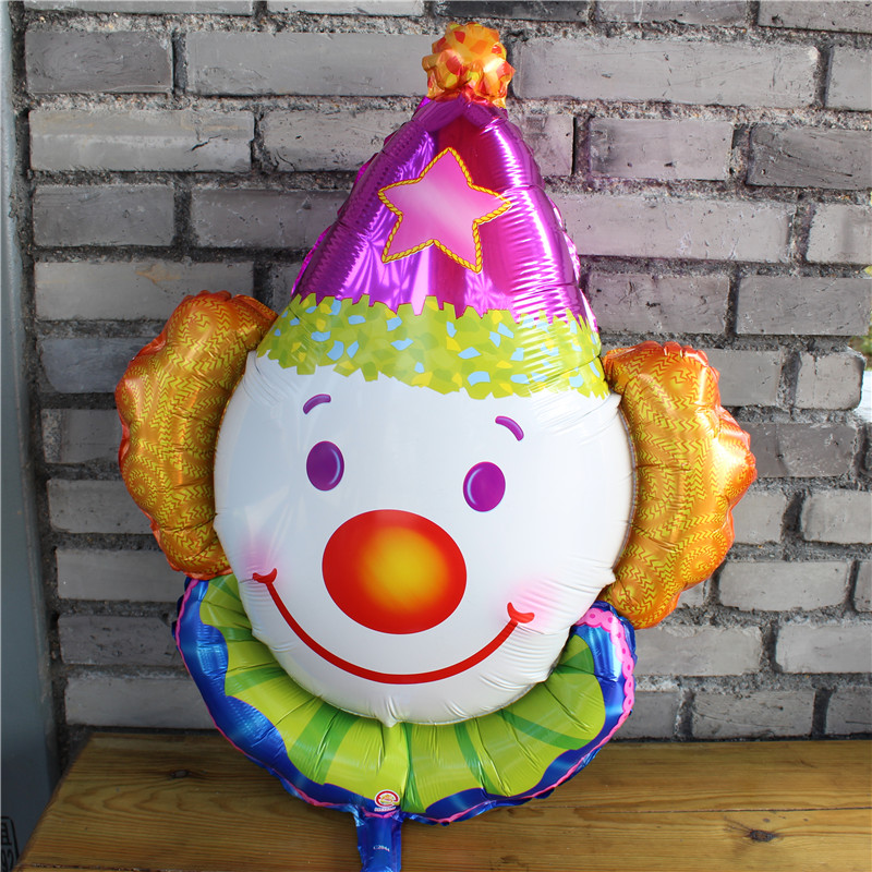 New Clown Helium Aluminium Foil Balloons Patata Patati ballon Child Happy Birthday Party Decoration globos kids Gift Toy 70 * 63cm