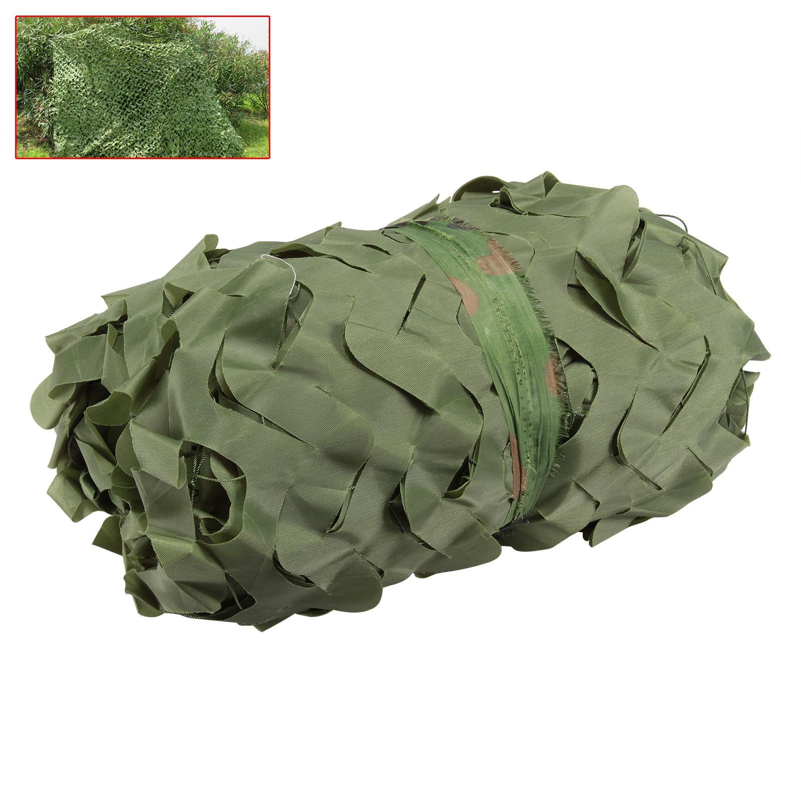 CN RU DE 3*4 m chasse Camping militaire Camouflage Net forêt Jungle feuilles Camo filet maison voiture ombre couverture 3 couleurs