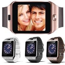 Смарт-часы цифровой DZ09 U8 запястье Для мужчин bluetooth Электроника Сим карта Спорт SmartWatch камеры для iPhone Android телефон Вах