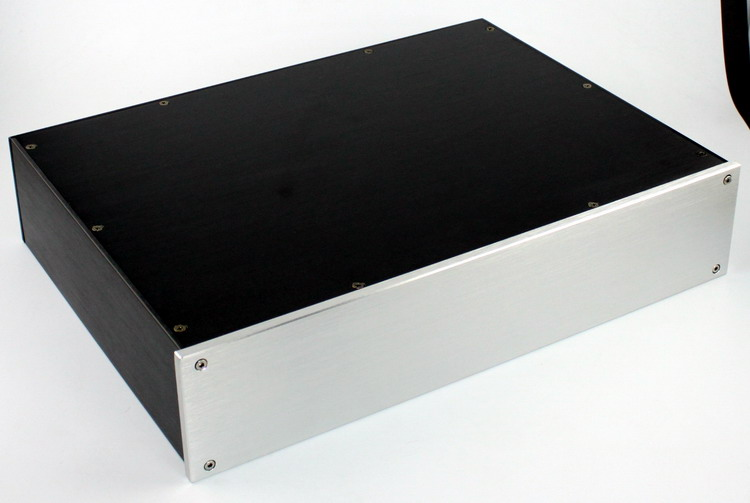 ФОТО YJ WA47 All aluminum chassis power amplifier chassis aluminium chassis aluminum amplifier enclosure