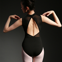Adult Sleeveless Dancewear Ballet Leotard gymnastics women girl ballet dance clothes black and blue