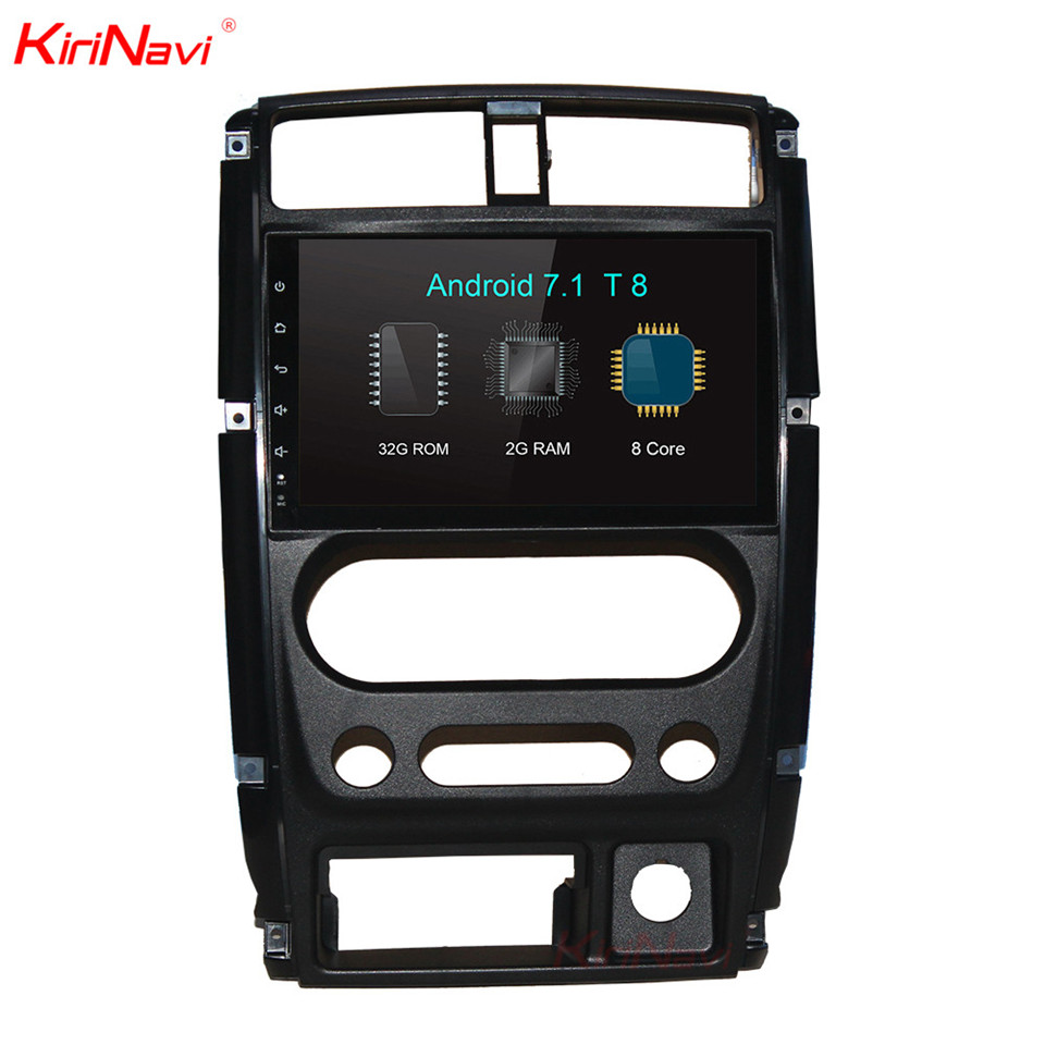 KiriNavi 9 Touch Display Android 7 1 For Suzuki Car DVD Radio Audio GPS Navigation Monitor