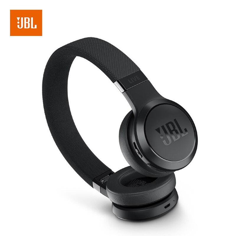 JBL VIVRE 400BT Sans Fil Bluetooth Casque Intelligent Casque Sur-Oreille Léger Mains Libres Musique Casque avec Micro