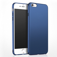 for iPhone 7 Case Luxury Full Cover Ultra Thin Slim Hard Matte Plastic Case for iPhone 6 6S 7 Plus Case Cover Fundas