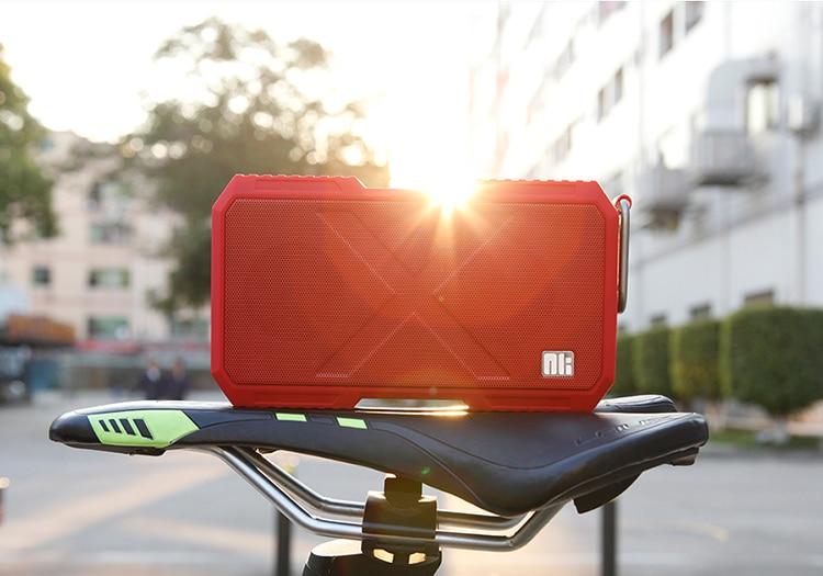 Nillkin x homem fio surround speaker sem fio bluetooth speaker música carregador de telefone para xiaomi para samsung para iphone oneplus zuk - 4